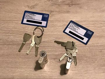 Schlüssel-Karten