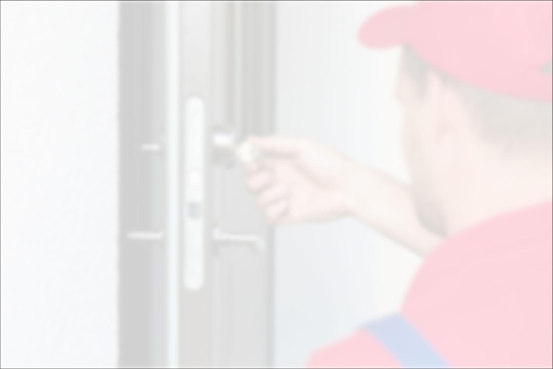 Mann-Mütze-Türschloss